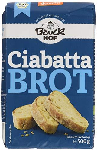 Bauckhof Ciabatta Brot Demeter, 6er Pack (6 x 500 g)