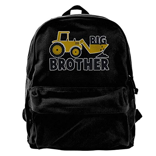 Rucksäcke, Daypacks,Taschen, Big Brother Gift for Tractor Canvas Backpack for Men Women Lightweight Travel Backpack College Student Bookbags Laptop Backpack