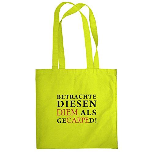 Texlab–Diem gecarped–sacchetto di stoffa Gelb