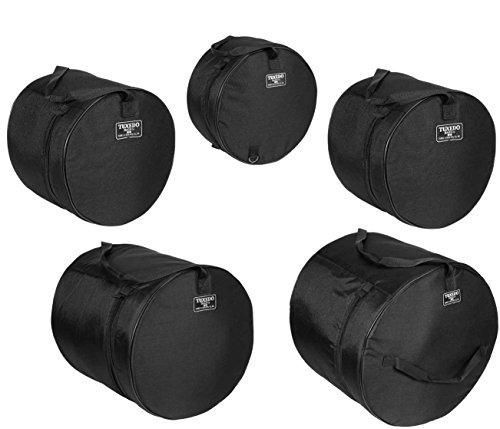 Humes & Berg Tuxedo Drum Tasche 5tlg Set 6,5x 1411x 1212x 1316x 1616x 22 (16 Tuxedo)