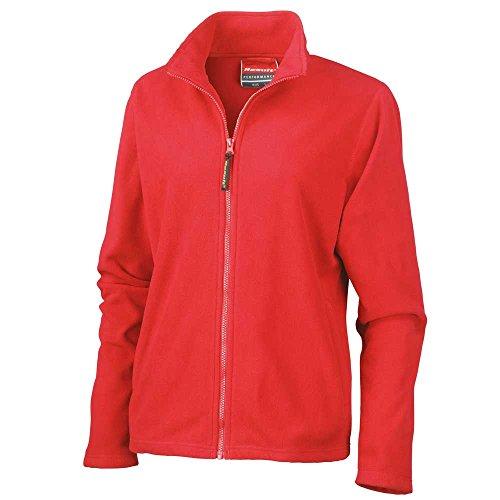 Result La Femme MicroFleece Jackets Horizon Jacket Cardinal Red