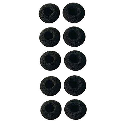 KESOTO 5 Paar Schwamm Ohrkissen/Ohrpolster aus Flanell für Plantronics Voyager/PRO / V5200 -