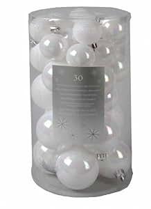 Sfere InfrangIbili Mix Bianco Iridescente 30pz.