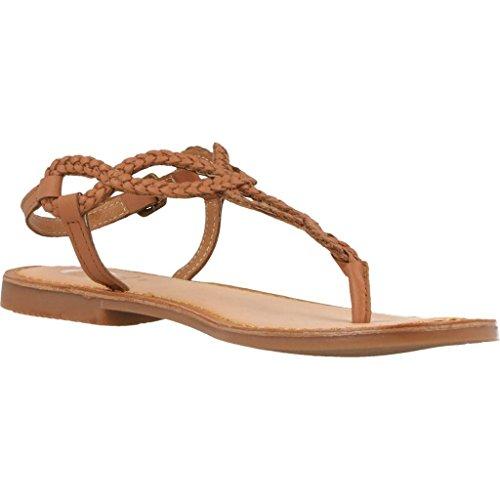 GIOSEPPO DYLANA 39222 marrone sandali donna infradito cuoio Marrone