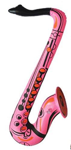 Hoop Kostüme Clown (erdbeer-clown - Aufblasbares Sachsophon Sachsofon - Party Dekoration Musik Kostüm, 55cm,)