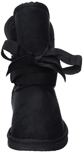 Fritzi aus Preußen Antke Fur Boot Tights, Bottes de Glissement Femme Noir (Black)