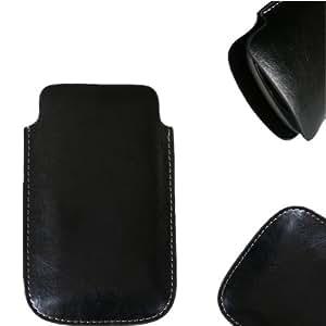 NFE Etui offen Lederetui Tasche Holster Handy Hülle Elson EL560 Dual Sim