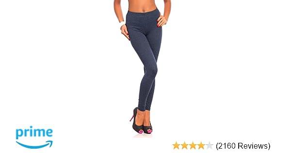 8c2f6cd149 FUTURO FASHION Women s Full Length Cotton Leggings Soft