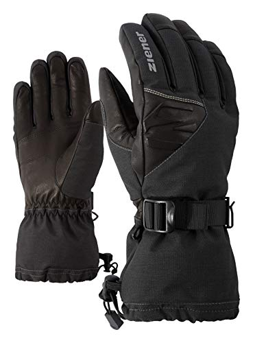 Ziener Herren GOFRIED AS(R) AW ski Alpine Handschuhe, Grey Iron tec, 9,5