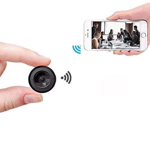 ALWAYZZ Mini-Camcorder HD 1080P Mini-Kamera WiFi Infrarot-Nachtsicht-Bewegungserkennungskamera DVR Voice Video Recorder Pocket Cam