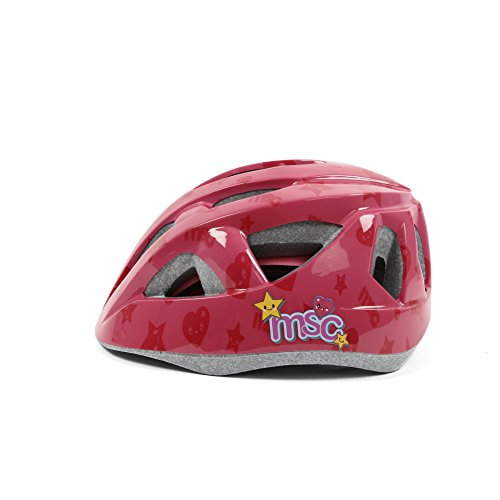 MSC Outmold Kids Helmet Pink S/M