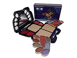 Ads Fashionable Makeup Kit with Eyeshadow, Blusher, Powder-A3633