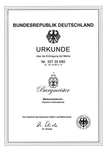Burgmeister Armbanduhr Herren Chronograph Washington, BM608-131
