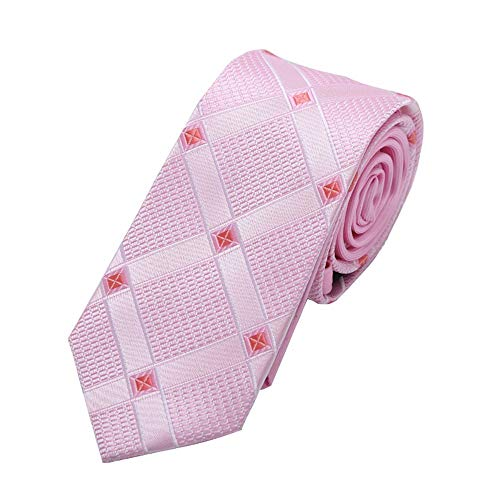 Preisvergleich Produktbild SEESUNGM Krawatte Jacquard Krawatte,  Rosa Krawatte Krawatte,  Pfeil Typ Polyester-Filamenten Superschmale Spezifikation: 6Cm