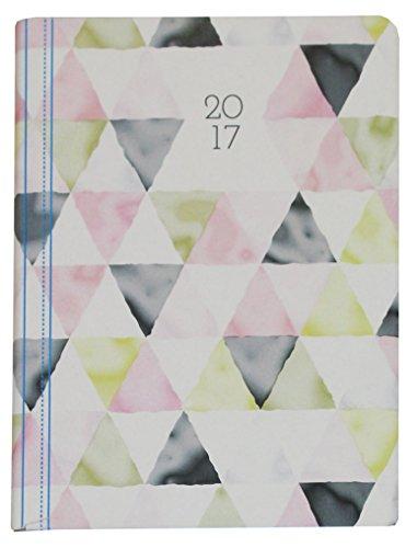Idena 10564 - Terminkalender Minitimer Fantasy 2017, DIN A6, FSC-Mix, Motiv Triangle