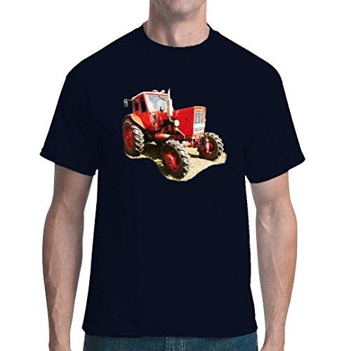 Im-Shirt Traktoren Unisex T Traktor Belarus MTS 50 by Navy L