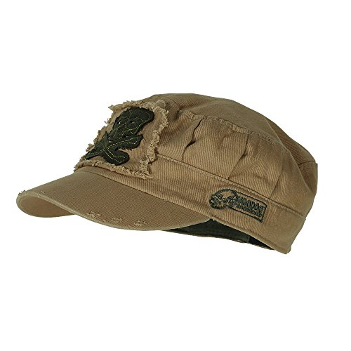 Voodoo Tactical 20-0017007000 Men's Ranger Roll Tactical Cap, Coyote