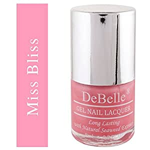 DeBelle Gel Nail Lacquer Miss Bliss - 8 ml (Pink Nail Polish)