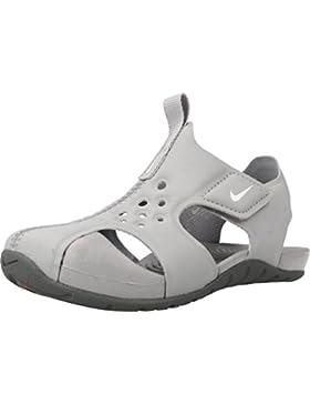 Nike Sandalias y Chanclas Para Niño, Color Gris, Marca, Modelo Sandalias Y Chanclas Para Niño Sunray Protect 2...
