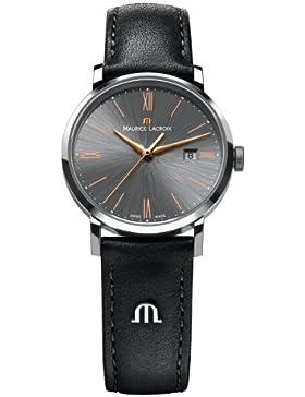 Maurice Lacroix Damen-Armbanduhr XS Eliros Analog Quarz Leder EL1084-SS001-811
