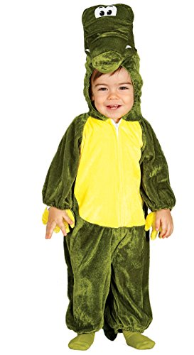 Baby Krokodil - Kostüm für Kinder Gr. 86 - 98, Größe:92/98 (Baby Mario-kostüm Für)