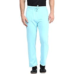 American Crew Sky Blue Fleece Sweatpants - L (ACTP208-L)
