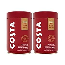 COSTA Roast & Ground Coffee (2 x 250g Caddy Tin)