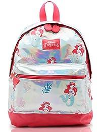 Mochila Princesas Disney para Niñas Mochilas Holograficas Infantiles La Sirenita Ariel