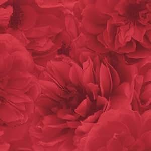 Statement Kalika Wallpaper Red Holden Decor ltd