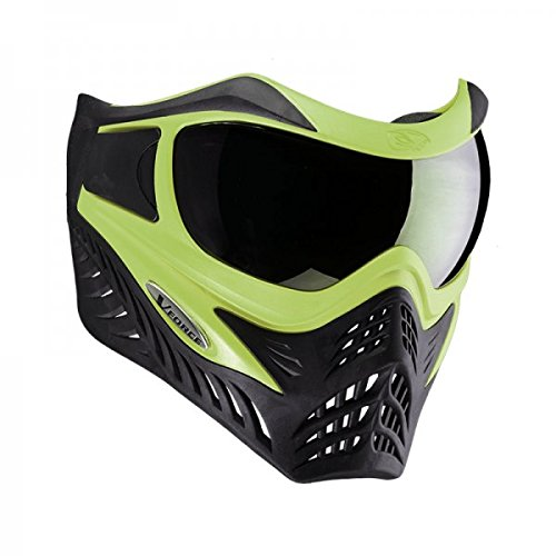 VForce Grill Paintballmaske mit Thermalglas, Lime on Black, SPECIAL EDITION -