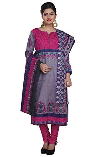 Rajnandini Women cotton Printed Unstitched salwar suit Dress Material (Multi colour _Free...