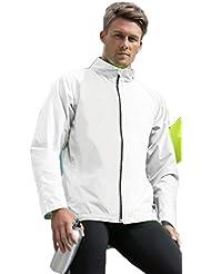 Cool running jacket Arctic White XL