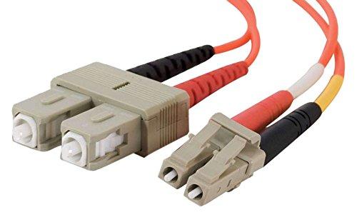 C2G 7m LC/SC LSZH Duplex 50/125 Multimode Fibre Patch (Multimode Duplex Lc Sc Fibra)