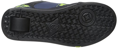 Heelys - Motion Plus, Away Bambino Multicolore (Black/Navy/Lime)