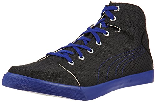 Puma Men's Drongos DP Black-Clematis Blue Mesh Running Shoes - 8 UK/India (42 EU)  available at amazon for Rs.1240