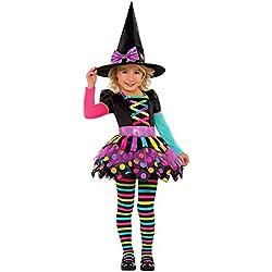 Amscan International - Disfraz infantil señorita (997910)