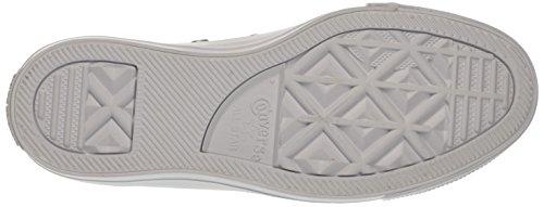Converse Ctas Ox, Sneaker a Collo Basso Donna Bianco (White/Silver/White)