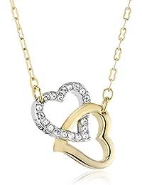 Swarovski Damen-Halskette MATCH vergoldeter und rhodinierter Edelstahl 38 cm 1062708