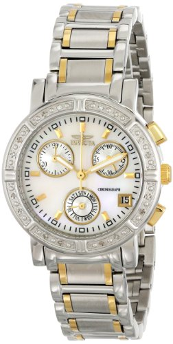 Invicta Wildflower 4719-DD 33mm Diamonds Stainless Steel Case Gold Plated Stainless Steel flame fusion Women's Watch