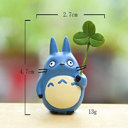 HHEHHE Anime Film Mein Nachbar Totoro Mononoke actionfiguren Spielzeug fee Garten Miniatur dekor Figuren Terrarium statuen Ornamente038 Harz