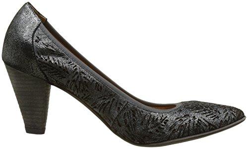 Un Matin d'Eté - Orelia, Scarpe col tacco Donna Noir (Ch Sum Lase Palme/Ch Sum)
