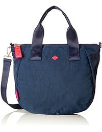 Damen Groovy Letters Handbag Mhz Henkeltasche, Blau (Light Blue), 15x25x33 cm Oilily