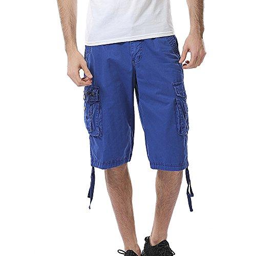 UFACE Sports Shorts Herren Lässige Fitness Training Fitness Sweat Lauf Shorts Schnell trocknende Interne Kordel Shorts für Männer mit Kordelzug Stretch Taille Reißverschlusstaschen