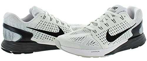 NikeLunarGlide 7 - Scarpe Running Donna WHITE/ANTHRACITE/COOL GREY/BLACK