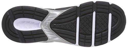Puma Devotion, Chaussures de course homme Noir - Schwarz (black-puma silver 05)
