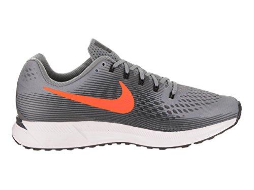 pretty nice 3e64c b3263 ... Nike Air Zoom Pegasus 34, Gris Chaussures De Course À Pied Pour Homme