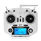 LITEBEE Frsky Taranis Q X7 Radiocomando RC Trasmettitore 16 Canali a 2.4GHz ACCST RC Transmitter Compatibile Frsky Ricevente RC Ricevitore Adatta a FPV Racing RC Drone Quadcopter by (White)