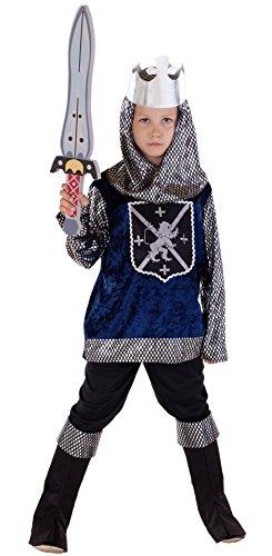 (Magicoo Ritterkostüm Kinder Jungen Mittelalter Gr. 92 bis 140 - Faschingskostüm Ritter Kostüm (134/140))