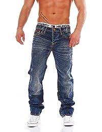 CIPO & BAXX - C-1036 - Regular Fit - dicke Naht - Men / Herren Jeans Hose