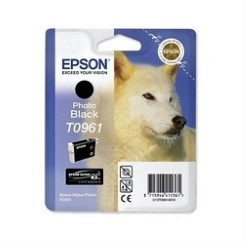 Epson Stylus Photo R 2880 - Original Epson C13T09614010 / T0961 - Cartouche d'encre Noir - 11.4 ml